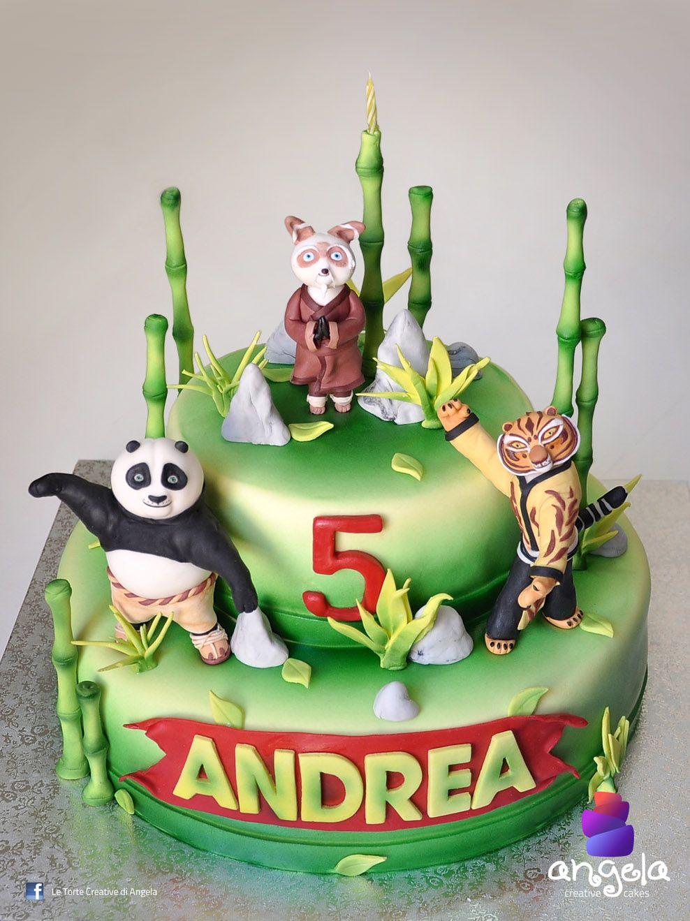 Prime Kung Fu Panda Creative Cake Panda Cakes Kung Fu Panda Cake Funny Birthday Cards Online Alyptdamsfinfo