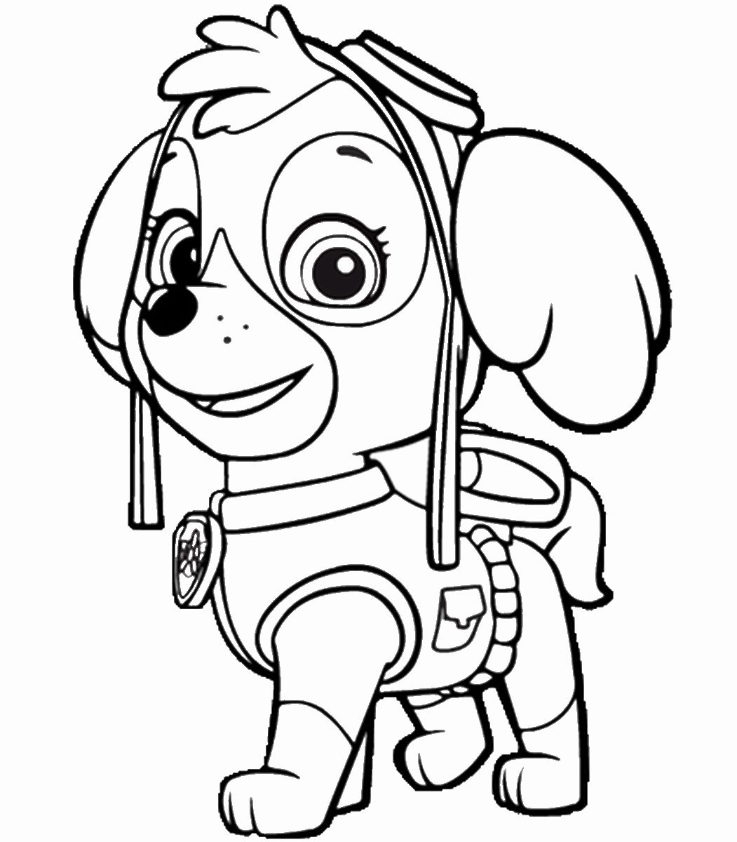 28 Chase Paw Patrol Coloring Page in 2020 (With images ...