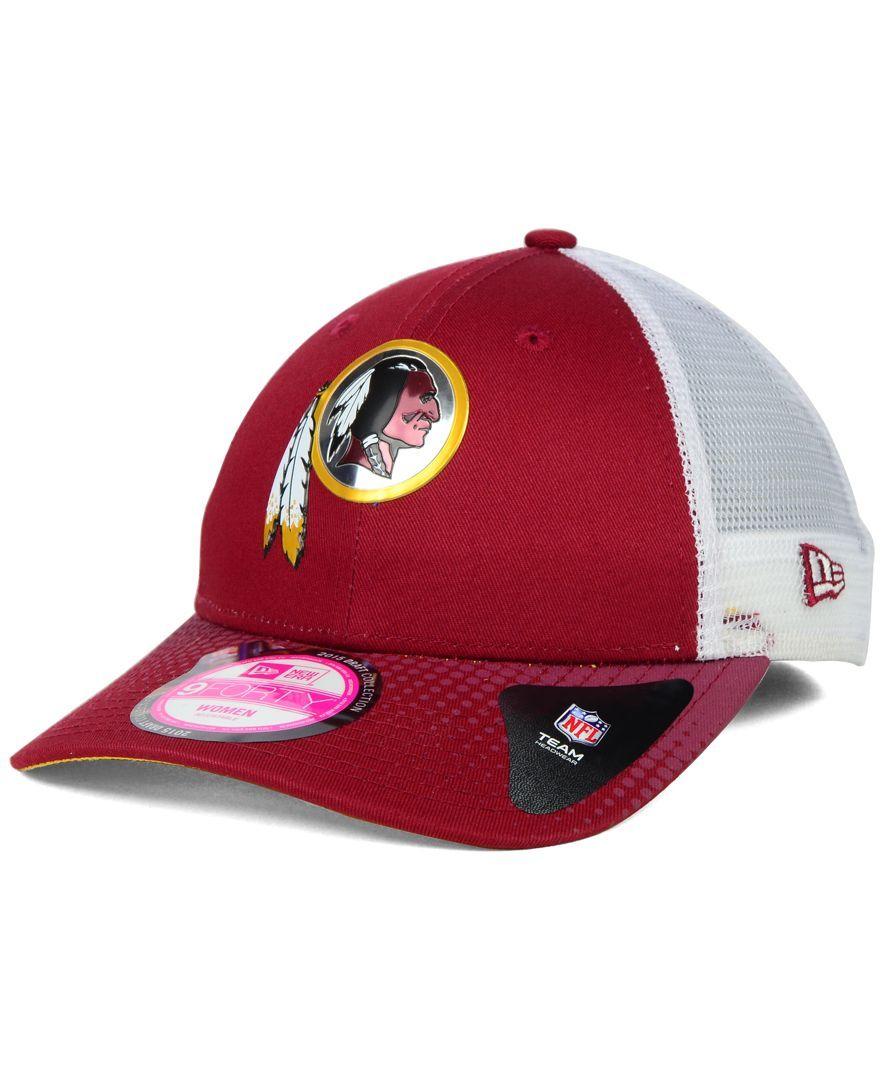 ce7de9b198ae1 New Era Women s Washington Redskins Draft Cap - Sports Fan Shop By Lids -  Men - Macy s