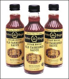Peter Luger Steak House Old Fashioned Sauce - for steak, chicken, tomatoes, hamburgers, etc.