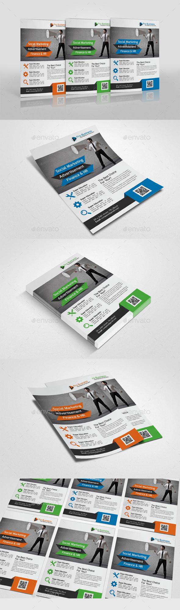 Multipurpose Business Flyer Template Psd Design Download Http
