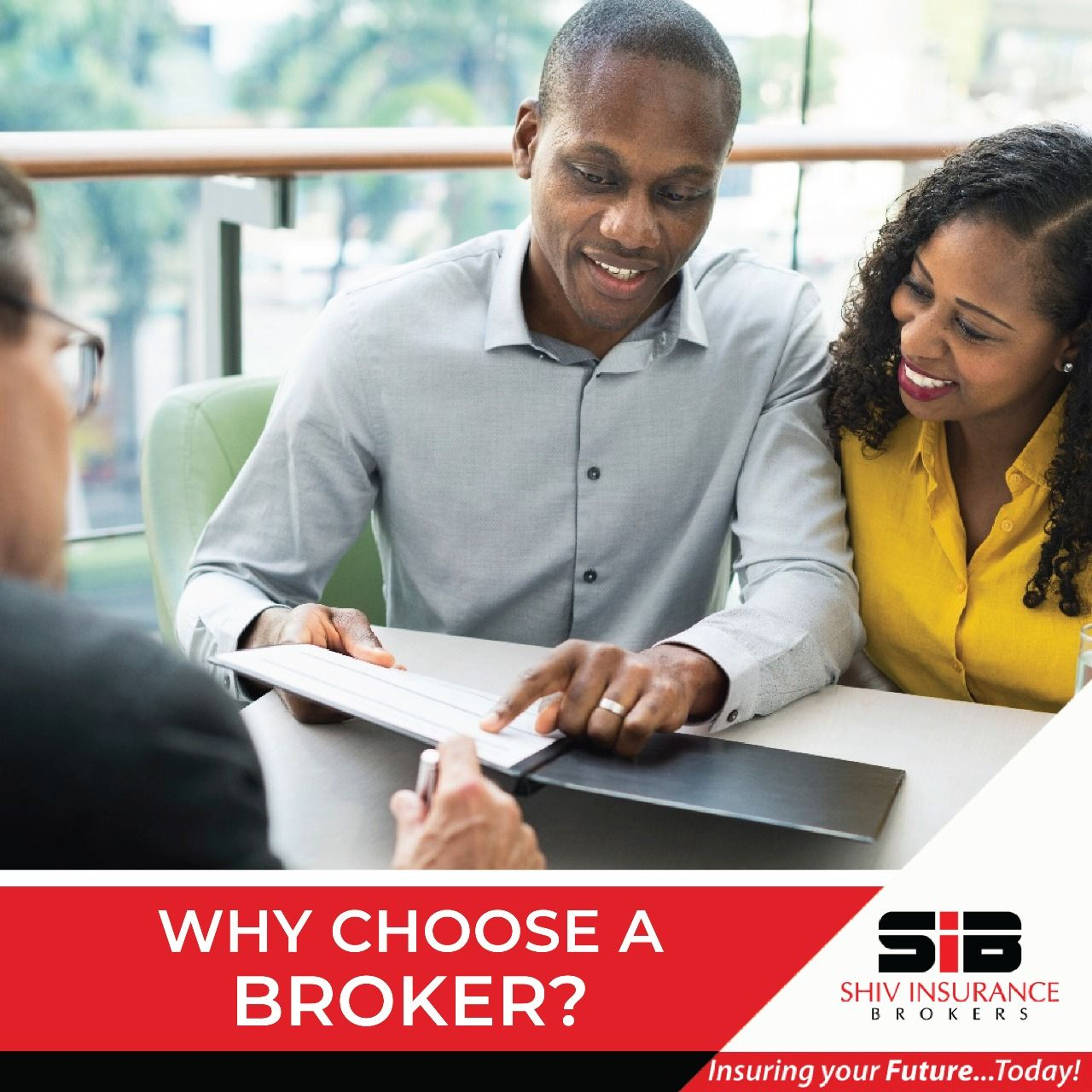 An insurance broker can save you time and money. Just like ...