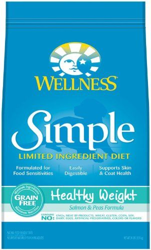 Wellness Simple Natural Grain Free Dry Limited Ingredient Healthy Weight Dog Food Salmon Limited Ingredient Dog Food Dog Food Recipes Natural Ingredients Food