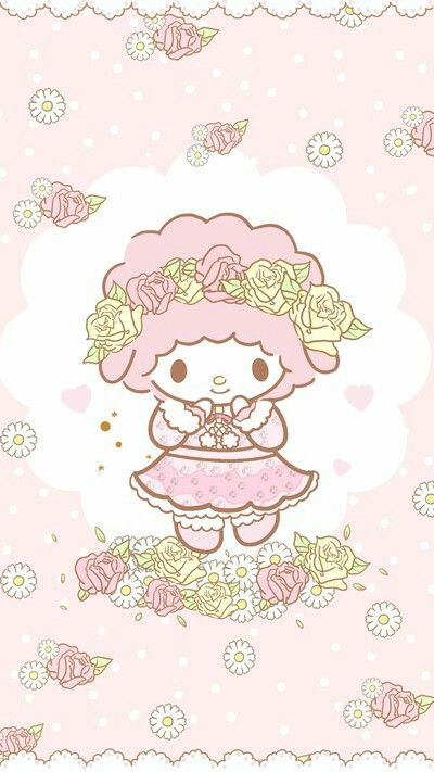 My Sweet Piano Wallpaper My Melody Wallpaper Hello Kitty My Melody Cute Wallpapers