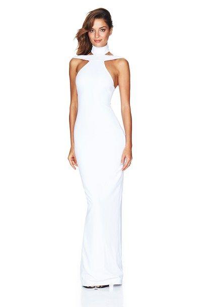 White Celestial Gown : Buy Designer Dresses Online at Nookie ...