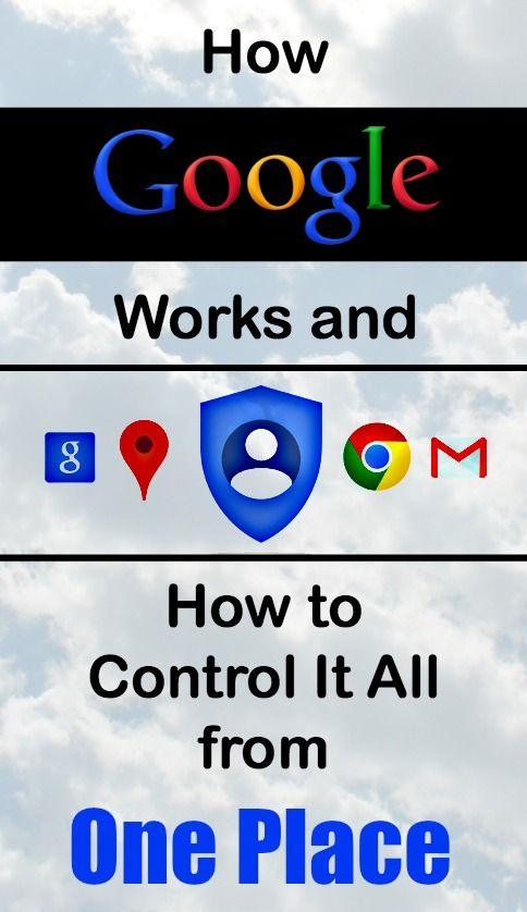How Google Works and How to Control It All from One Place Google
