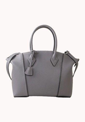 43f1d7234339 Khaleesi Calf Leather Bag Grey | New Attitude Style | Bags, Calf ...