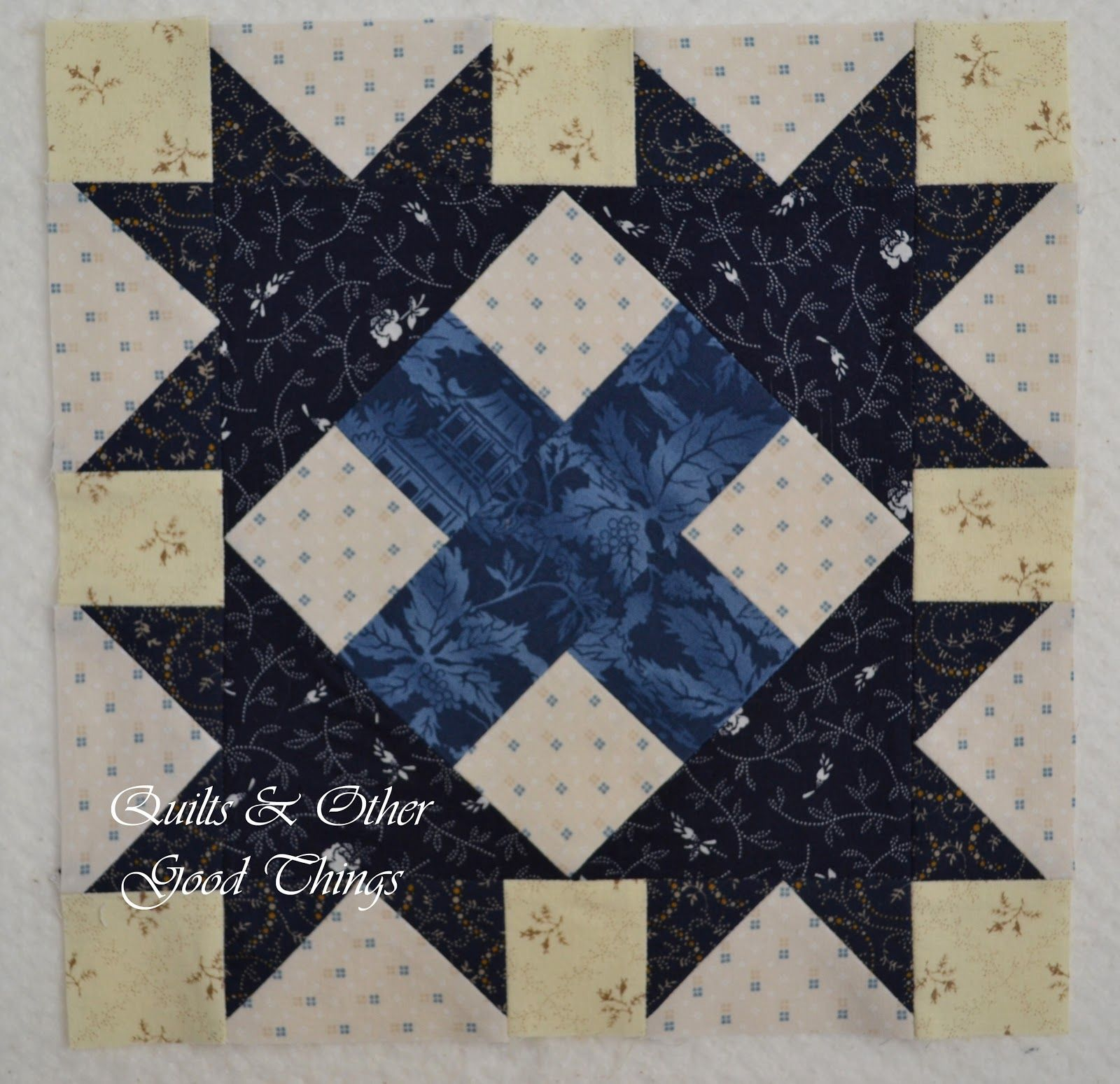 Quilts and Other Good Things Des Moines Star Tutorial