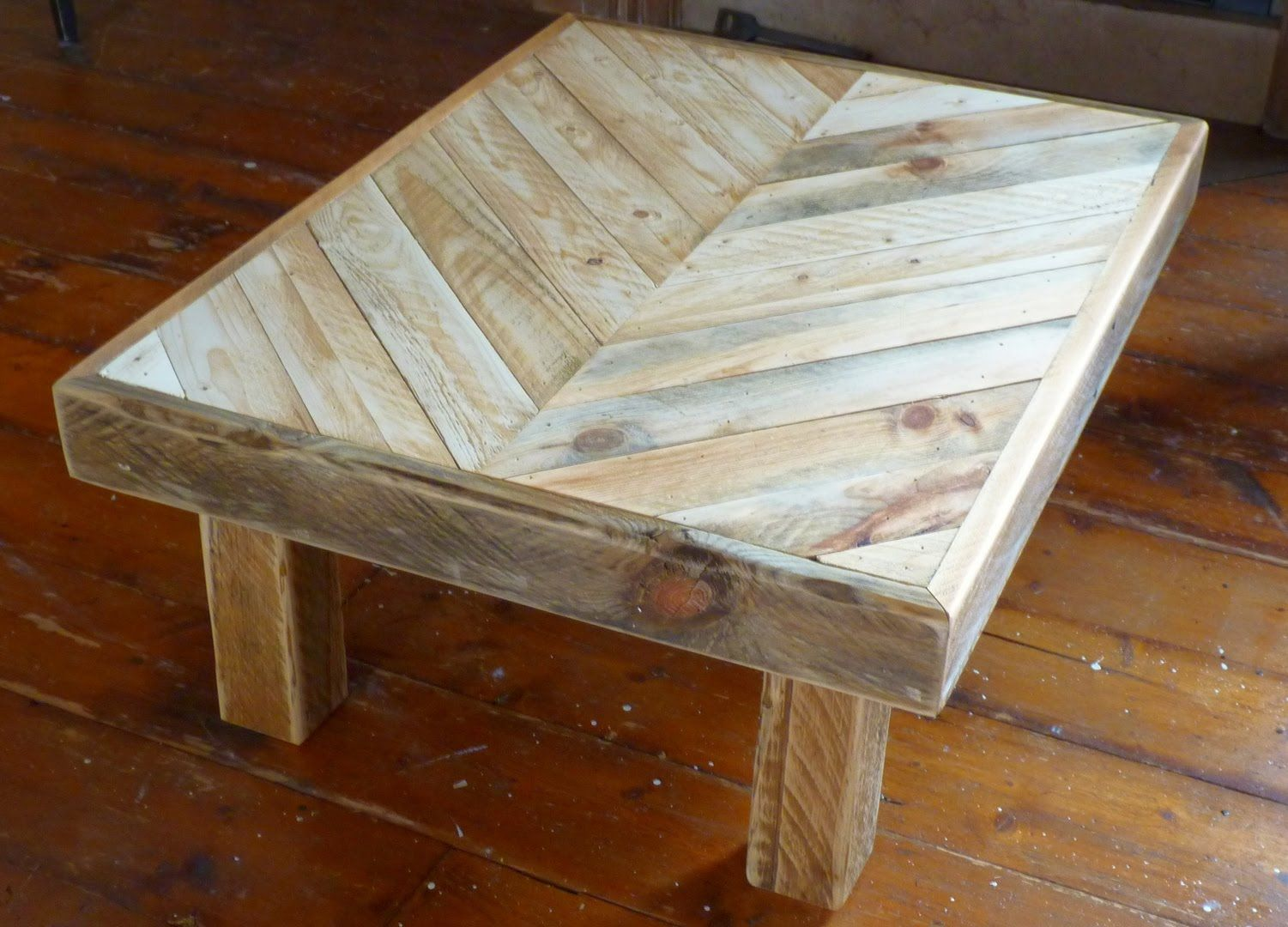 In This Video I Show The Process I Go Through To Build A Coffee Table Out Of Recycled Pallet Coffee Table Out Of Pallets Wood Pallets Wooden Crate Coffee Table