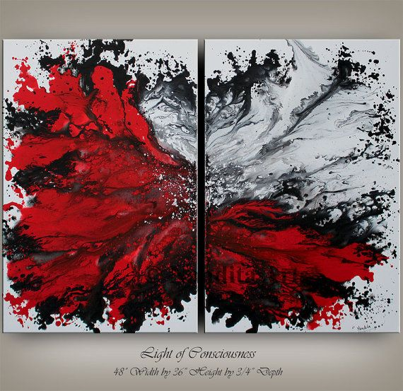 Wall Art Canvas Painting Extra Large Wall Art Red Modern Art Etsy Wall Art Canvas Painting Canvas Art For Sale Red Modern Art