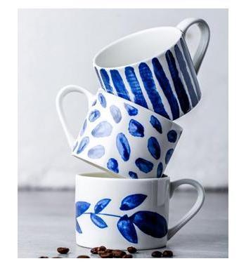 Indigo dreams coffee mugs