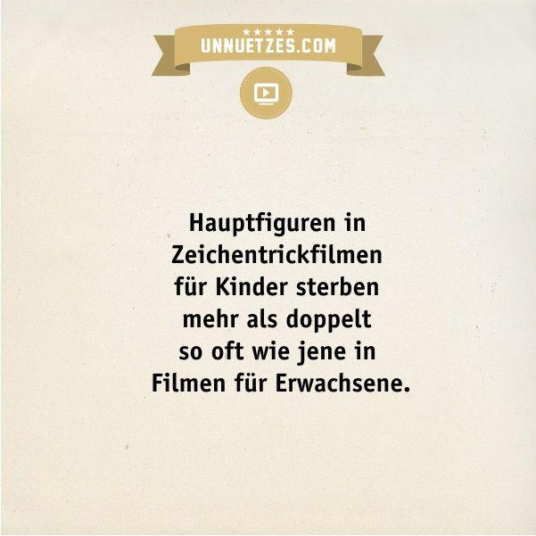 Weitere Infos: http://www.unnuetzes.com/wissen/14311/kinderfilme/