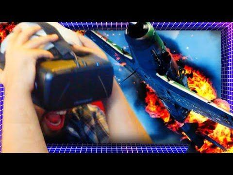 Die In A Plane Crash In VIRTUAL REALITY! | Oculus Rift DK2 Gameplay