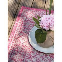 Photo of benuta indoor & outdoor rug Cleo Rosa 80×150 cm – for balcony, terrace & garden benuta