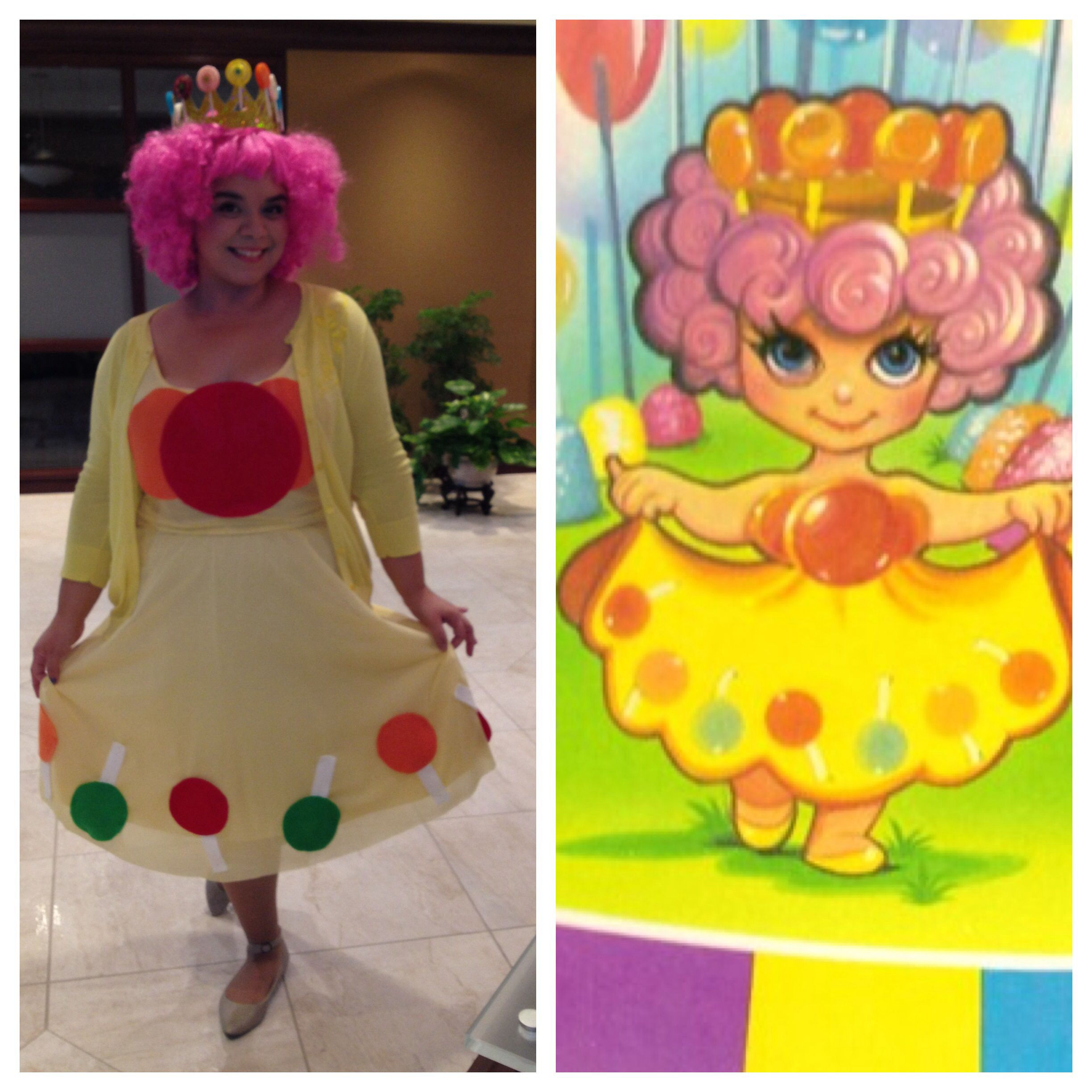 Halloween costume 2013 Princess Lolly from Candy Land