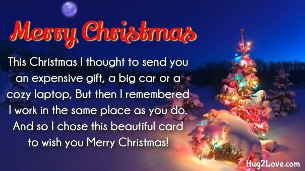 best Merry Christmas Wishes for Coworkers or Work Colleagues ...