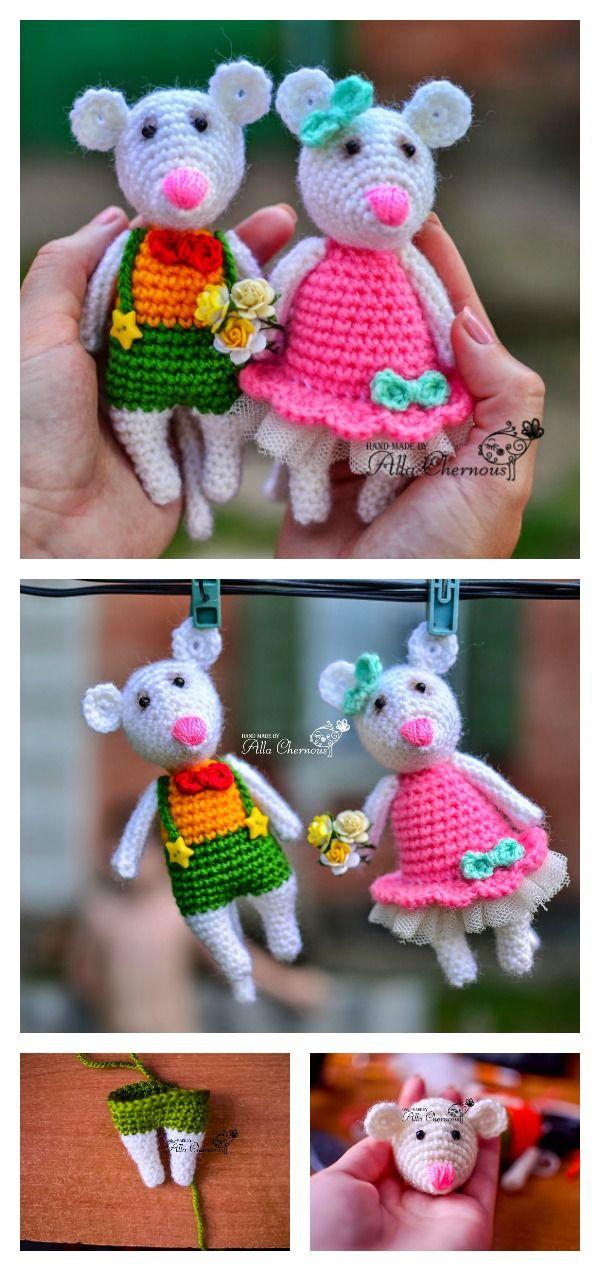 Free Mini Mouse Crochet Patterns Free Crochet Amigurumi And Mice