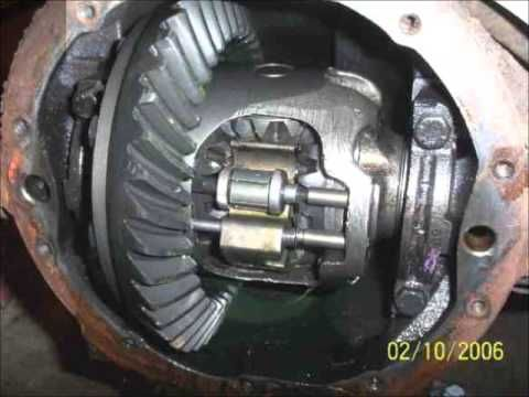 GM differential gov-lock noise repair  Convert it to open