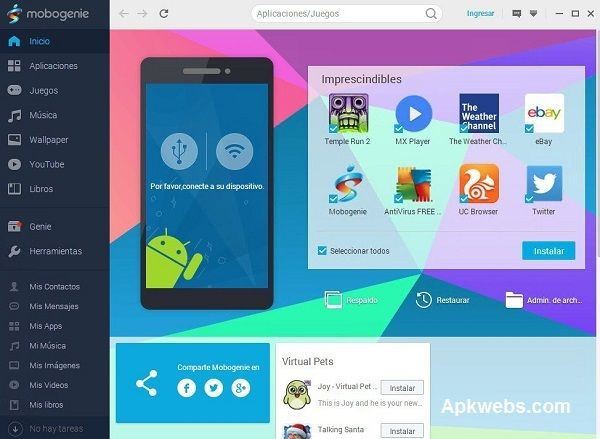 Mobogenie APK Latest Version Free Download for Android