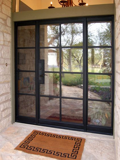 Best of Modern Entry by Rehme Steel Windows & Doors Picture - Simple Elegant Steel Entry Doors with Glass Luxury