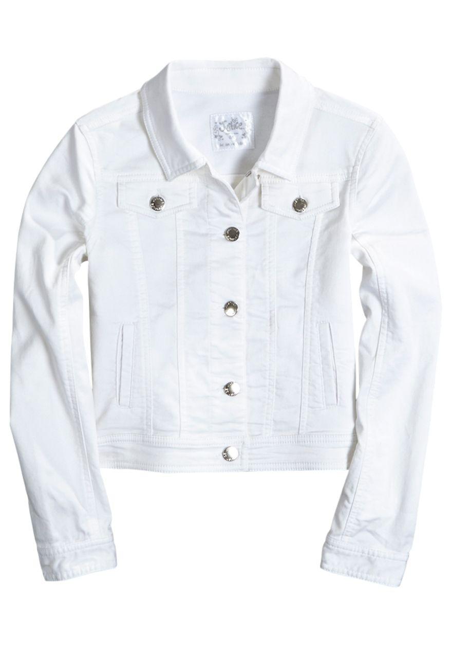 51ae283c40 White Denim Jacket (original price
