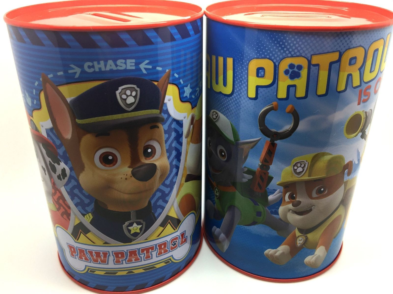 The Tin Box Company Coin Bank for Kids Paw Patrol Coin Bank Sea Dogs Coin Bank Great for Kids