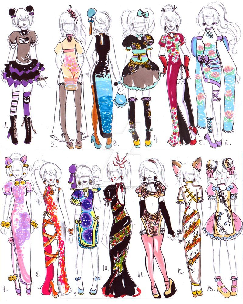 closed chinese dress designs by guppie adopts bn2