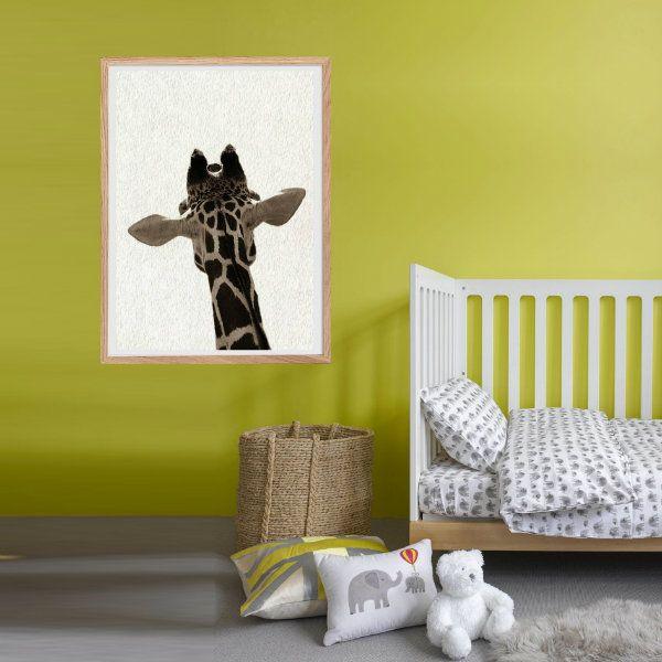 Nandi Animals, Africa, Giraffe, Wildlife, Wall art, Digital Print ...