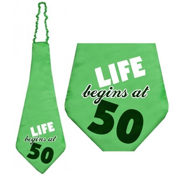 Mega corbata para fiesta original de 50 cumplea os for Decoracion de cumpleanos adultos