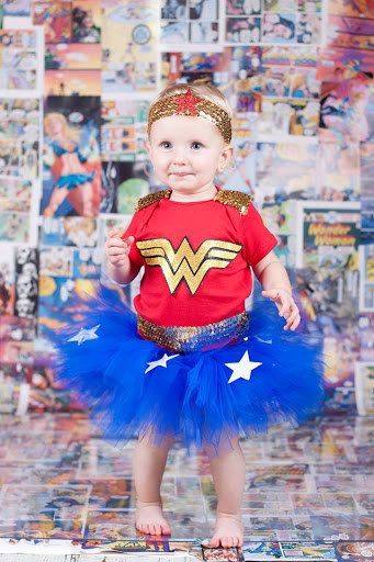 Inspired by Wonder Woman Tutu Costume Small  sc 1 st  Pinterest & DIY Wonder Woman Costume - Make a Tutu | Pinterest | Diy wonder ...