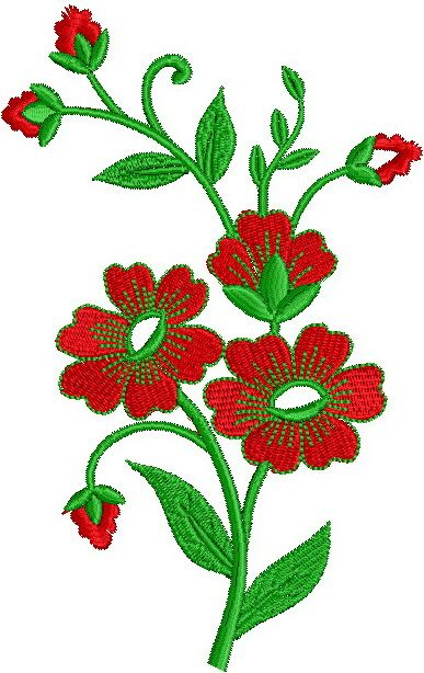 Free Jef Embroidery Design Downloads Exclusive Floral Design 56