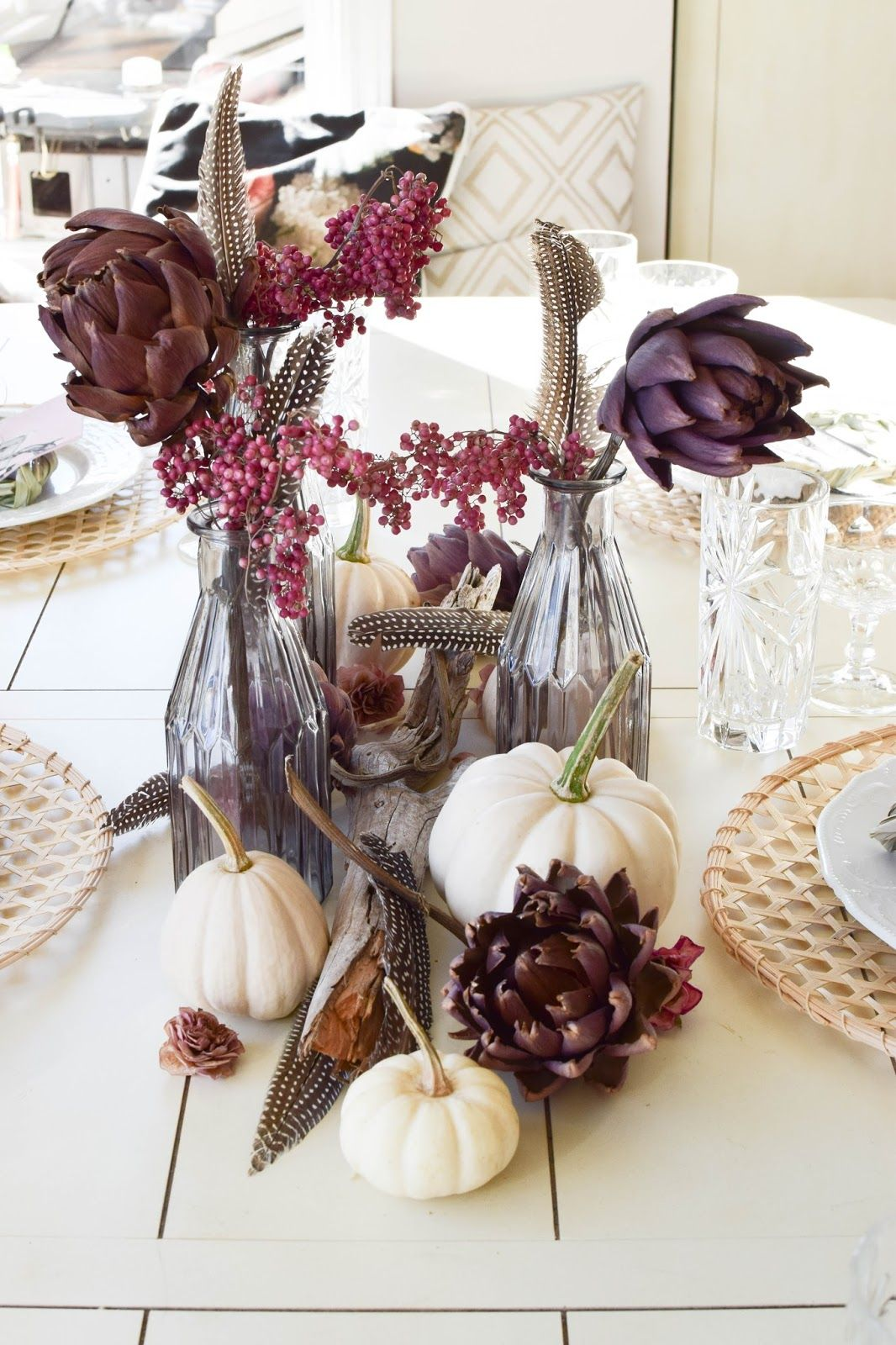Mein Esszimmer Und Tischdeko Im Herbst Taufe Pinterest Decoration