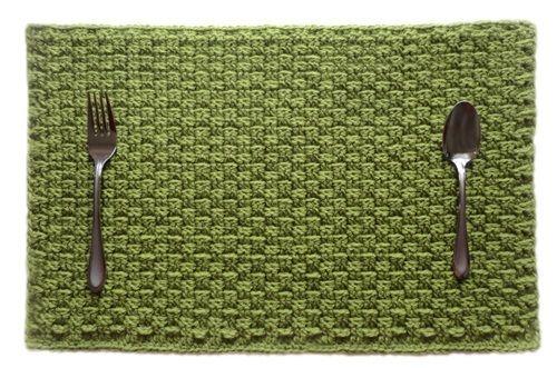 Crochet Placemat Pattern Placemats Pinterest Crochet Crochet