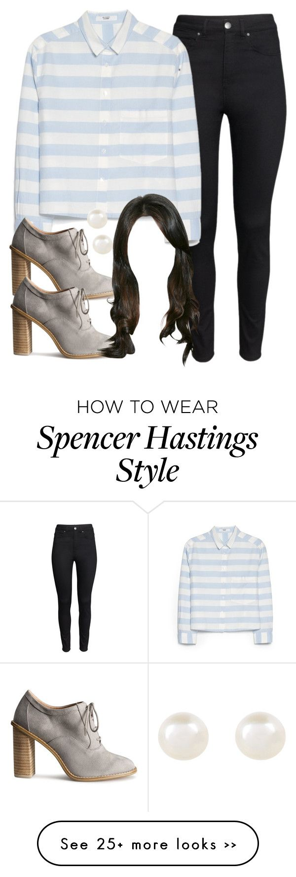 """""""Spencer Hastings inspired outfit with requested shirt"""" by liarsstyle on Polyvore"""