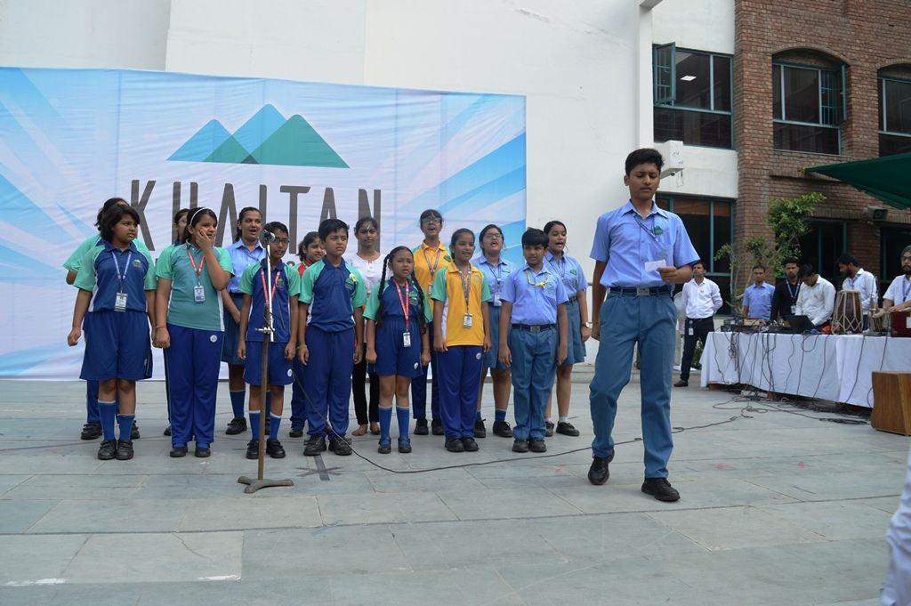 Independenceday was celebrated at kps with a great zest