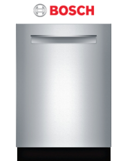 Bosch 500 Series Pocket Handle Built In Dishwasher With Images