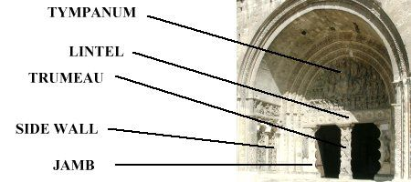 Images of the tympanum, South Porch, St. Pierre, Moissac France
