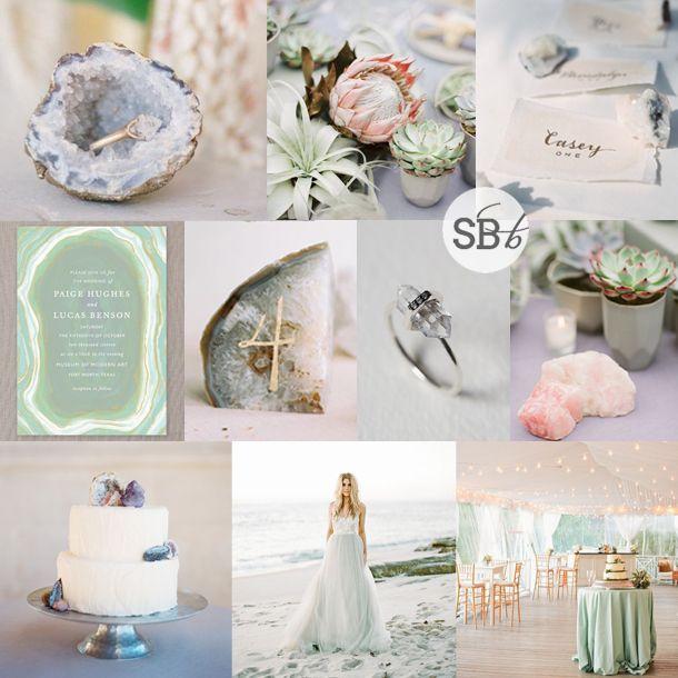 Nigerian Wedding Menu: Inspiration Board: Love Rocks