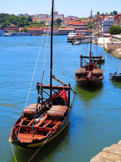 Barco Rabelo www.webook.pt #webookporto #porto #transporte