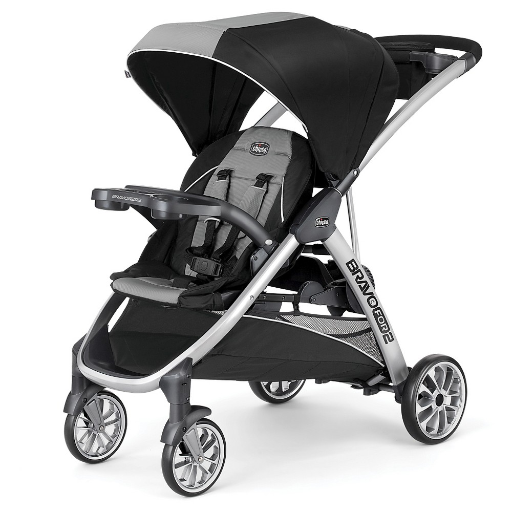 Chicco Bravo For 2 Double Stroller Zinc, Tan Baby Gifts