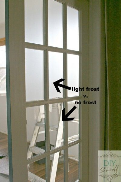 Diy Show Off Pinterest Frosted Glass Frosting And Glass