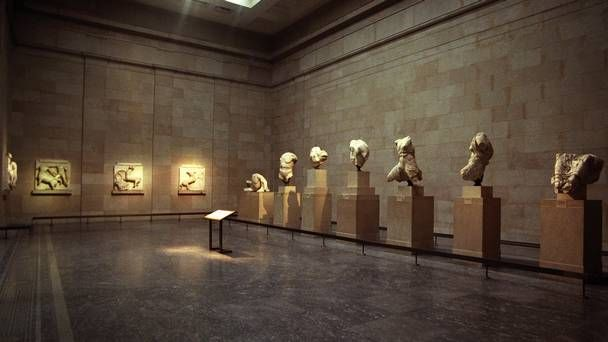The Parthenon Sculptures Also Known As The Elgin Marbles At The British Museum In London Elgin Marbles British Museum Greece Culture
