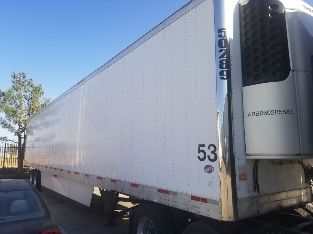 Reefer trailer Trailers for sale, Semi trailer, Tractor