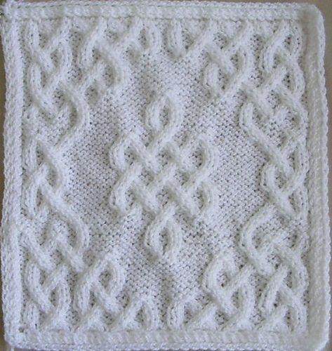 Celtic Afghan Squares pattern by Devorgilla's Knitting ...