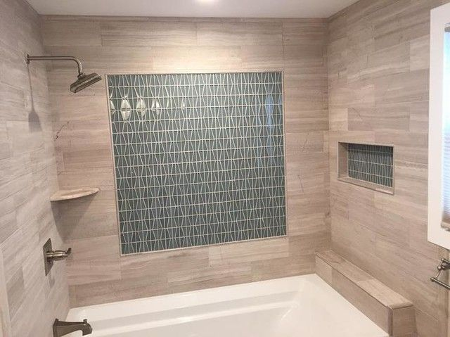 Bathroom backsplash tile - Glass Water Napier Mosaic Tile | Your ...