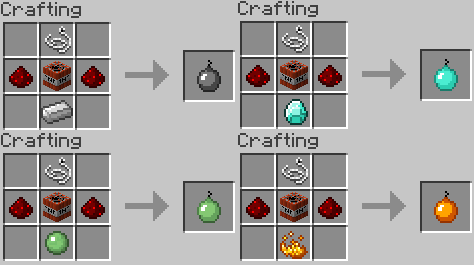 how to make items in minecraft | Minecraft Item Ideas - Bombs by ...