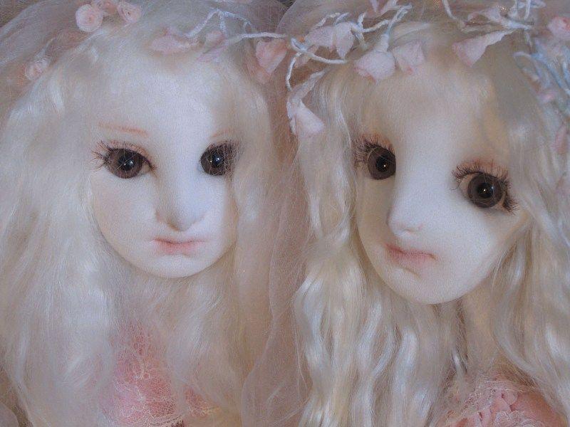 Muñeca textil del autor