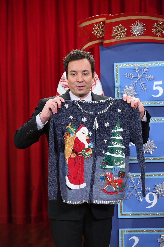 Jimmy Fallon Christmas Sweaters.Pin On Christmas Sweaters Please Go Away