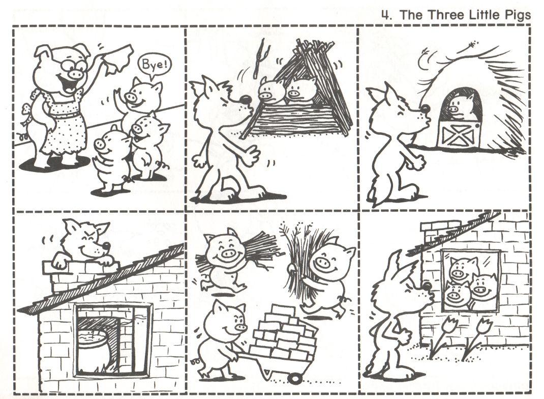 Just Another Wordpress Com Site Fairy Tales Kindergarten Three Little Pigs Story Little Pigs [ 784 x 1070 Pixel ]