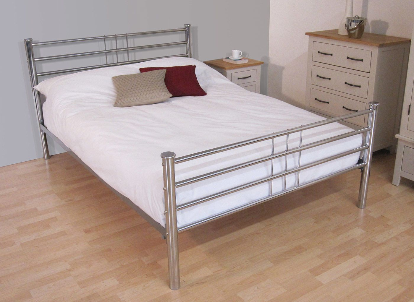 Delightful Metal Beds For Sal Full Size Bed Frames For